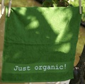 Handdoekje Just organic! groen