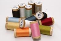 Spool organic sewing thread