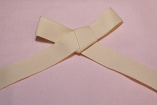 Picture of Ecru Ribbon - 25 mm
