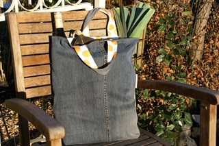 Picture of Recycle Jeans Bag