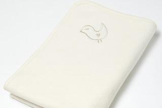 Afbeelding van Fleece deken naturel