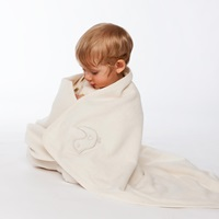 Fleece blanket natural-2