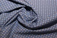 Retro Daisy blue poplin-2