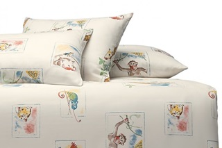 Picture of Jungle children's duvet cover sateen