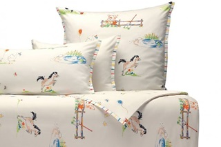 Picture of In the Countryside children's duvet cover sateen