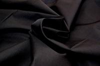 Zwarte poplin (SALE)