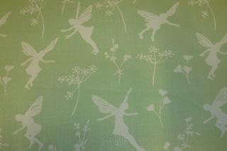 Afbeelding van Fairy Dance Green voile