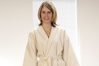 Picture of Waffle Bathrobe Natural (SALE)