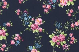 Afbeelding van Rose Aurelie poplin