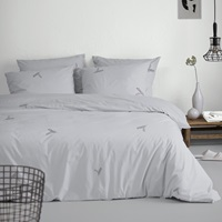 Fjer Silver duvet cover percal-2