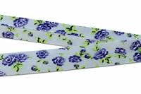 Rose Violetta bias binding