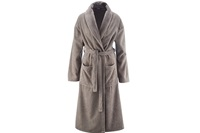Cashmere bathrobe