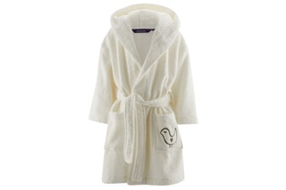 Picture of Cream children's bathrobe