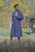 Infinity Blue bathrobe-2