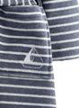 Stripe kinderbadjas
