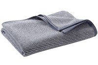Infinity Blue Stripe bath textiles
