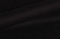 Zwarte sweaterstof