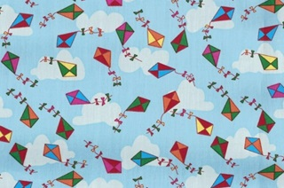 Picture of Kites poplin