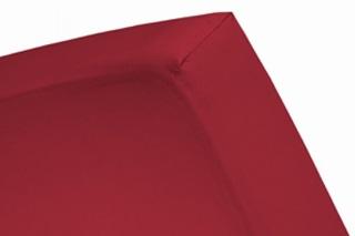 Afbeelding van Red hoeslaken jersey