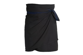 Picture of Wrap Apron Black-Blue (SALE)