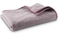 Plum Stripe bath textiles