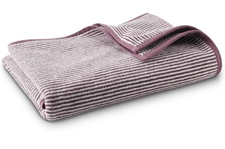 Afbeelding van Plum Stripe badgoed