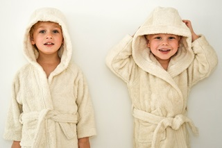 Afbeelding van Naturel Kinderbadjas