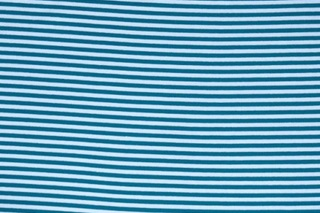 Picture of Petrol White striped wristband fabric (elastane)