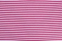 Red White gestreepte boordstof 1x1 (met elastan)