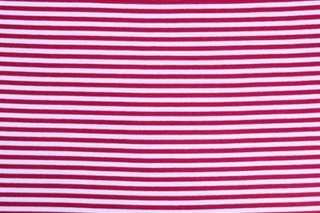Picture of Red White striped wristband fabric (elastane)