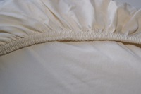 Naturel fitted sheet jersey-2