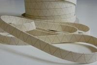 Ecru Elastic Ribbon 10 mm