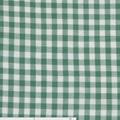 Green Bay/Wit ruitje poplin