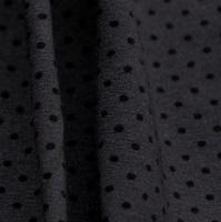Grey-Black Dots stretch jersey (SALE)-2