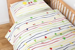 Picture of Happy Fruits children's duvet cover (SALE)