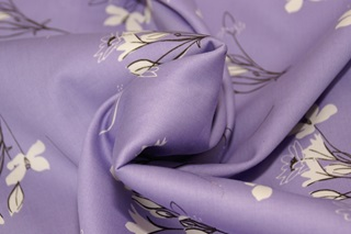 Picture of Stornetta Lavender sateen (width 279 cm)
