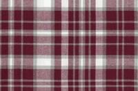 Burgundy-Grey checked flannel
