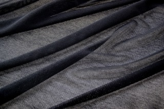 Picture of Jet Black soft tulle