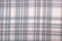 Grey-Pink checked flannel