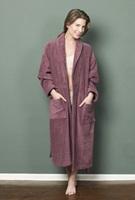 Plum bathrobe-2