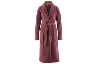 Picture of Plum bathrobe