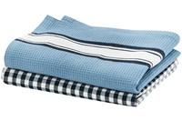 Delhi Blue tea towel set