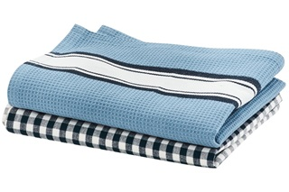 Picture of Delhi Blue tea towel set