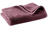 Plum bath textiles