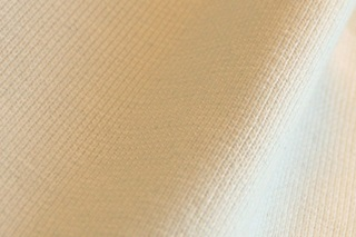 Picture of Natural White wristband fabric 1x1 (ribbing)