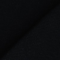 Black wristband fabric 1x1 (ribbing)-2