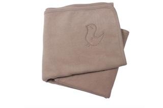 Afbeelding van Fleece deken taupe