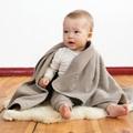 Fleece deken taupe