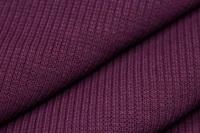 Bordeaux wristband fabric 2x1 (with elastane)