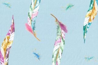 Afbeelding van Miu feathers voile